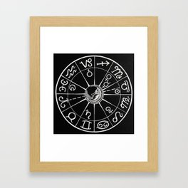 Planetary Rejoicing - Nocturnal Diagram Framed Art Print