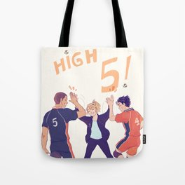high fives Tote Bag