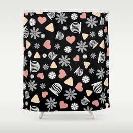 Lovely Pattern VII Shower Curtain