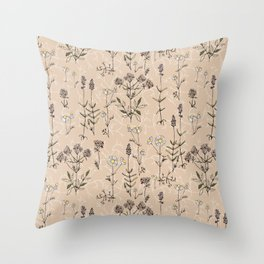 homeland flora Throw Pillow