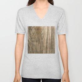 Texture #1 Wood Unisex V-Neck