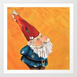 Abstract Study of Gnome Art Print