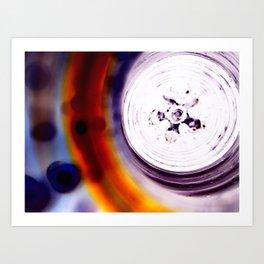 Macro_Exp Art Print