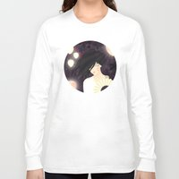 tokyo Long Sleeve T-shirts featuring Tokyo by Jenny Lloyd Illustration