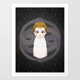Kokeshi The Childlike Empress Art Print