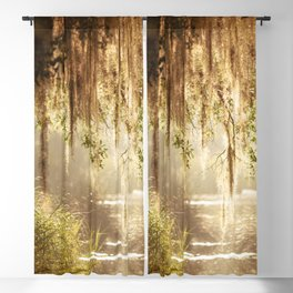Lowcountry Swamp Blackout Curtain