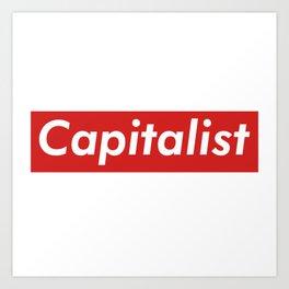 Capitalist Box Logo Art Print