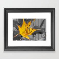 A Bit of Yellow Framed Art Print