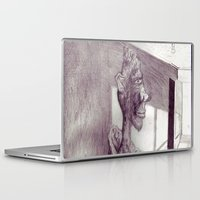 air jordan Laptop & iPad Skins featuring Jordan by seb mcnulty