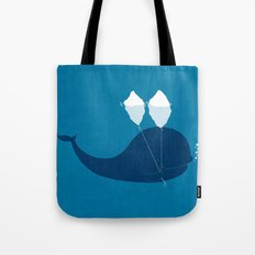 Why does iceberg float? Tote Bag