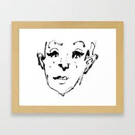 Sketch Framed Art Print