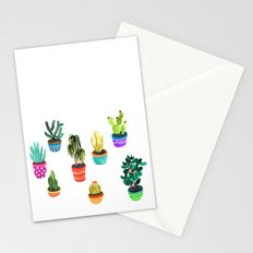 Cacti by Veronique de Jong Stationery Cards
