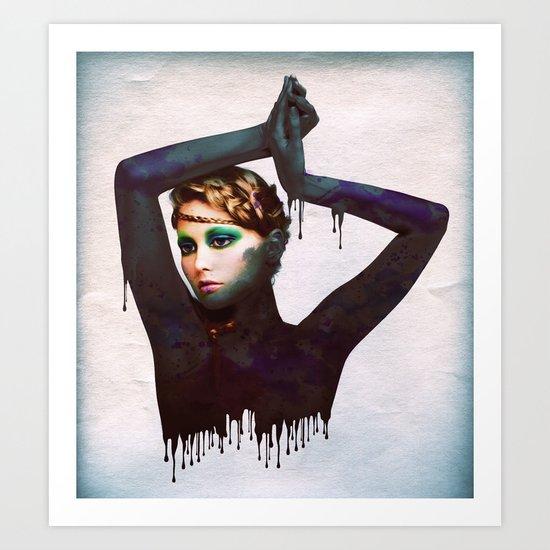 The Girl 4 Art Print