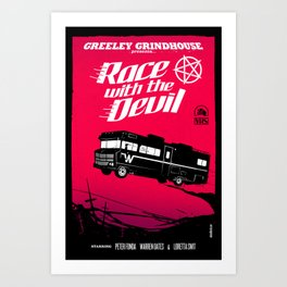 Race with the Devil Art Print
