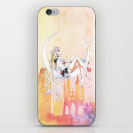 Can not Fight The Moonlight Watercolor Version iPhone Skin