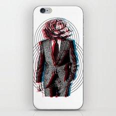 l'homme à la tête de chou iPhone & iPod Skin