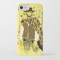 klimt iPhone & iPod Cases featuring Klimt Eastwood by Frederick Hoffman
