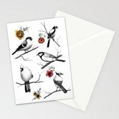 BIRDS & FLOWERS Stationery Cards