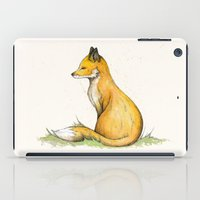 mr fox iPad Cases featuring MR Fox by Lynette Sherrard Illustration and Design