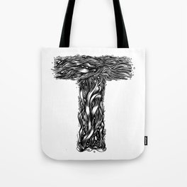 The Illustrated T Tote Bag