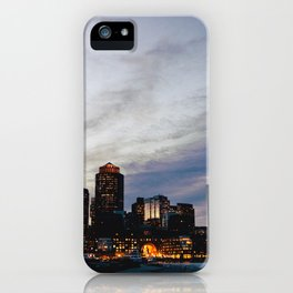 Christmas in Boston iPhone Case