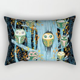 Overnight Owl Conference Rectangular Pillow