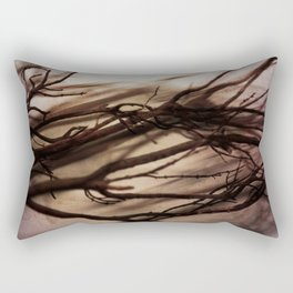 Winter Reimagined Rectangular Pillow