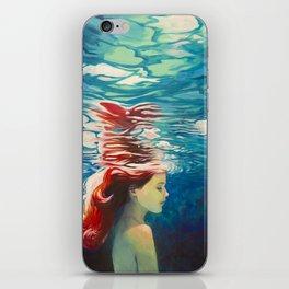 Underwater Ariel iPhone Skin