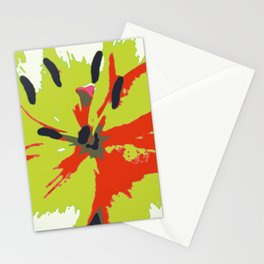 Abstract Expression Stationery Cards
