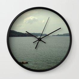 off to sea Wall Clock