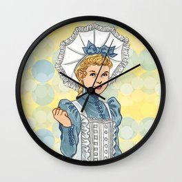 Alice Bonnet Wall Clock