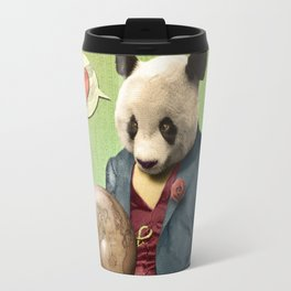Wise Panda: Love Makes the World Go Around! Travel Mug