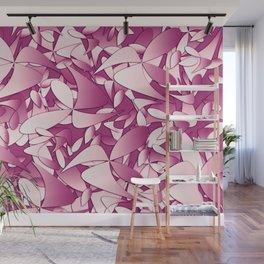 Pattern pink 4 Wall Mural