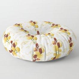 Wild bouquet Floor Pillow