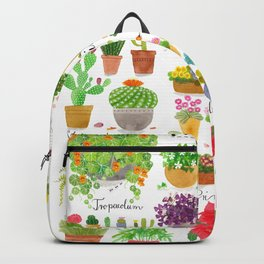 Here are some Pot Plants! Backpack