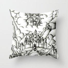 Pilgrimage to Santiago Throw Pillow