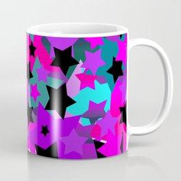 Punk Rock Star Crazy Coffee Mug