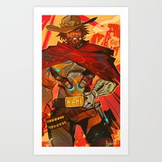Mccree Art Print