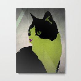 - pop cat - Metal Print