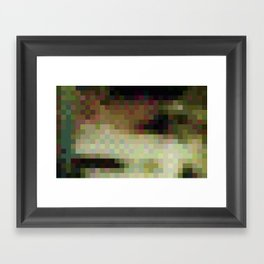 ABSTRACT PIXELS #0011 Framed Art Print