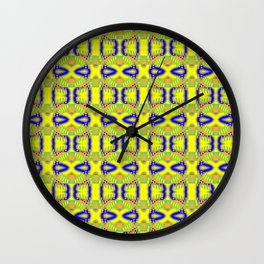 i - pattern 3 Wall Clock