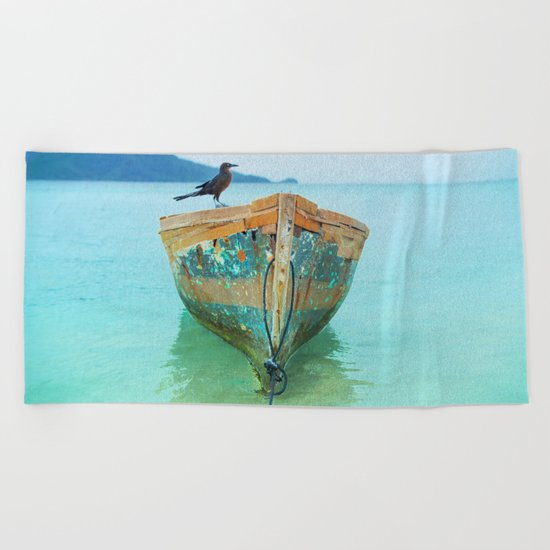 BOATI-FUL Beach Towel
