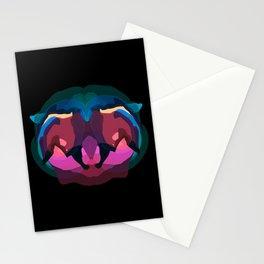 Liger skull Stationery Cards