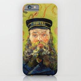 The Postman (Joseph Roulin) (1888) by Vincent Van Gogh. iPhone Case