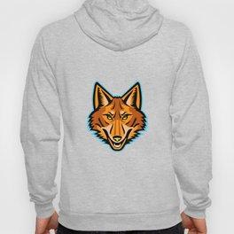 Coyote Head Front Mascot Hoody