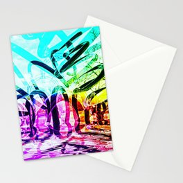 The Feather Sculpture ONE Stationery Cards