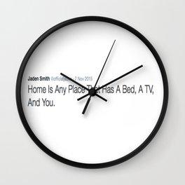DEEP THOUGHT #4 Wall Clock