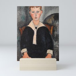Amedeo Modigliani - Boy in Sailor Suit Mini Art Print