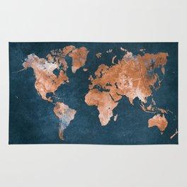 world map 15 Rug