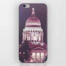 Idaho Capital Building at Night iPhone & iPod Skin